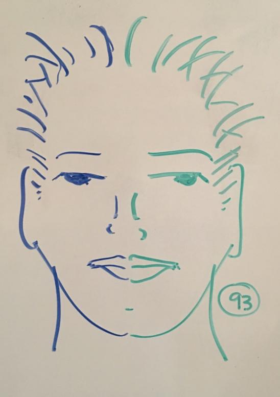 Double Doodle Face 93/100